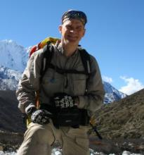 Alan Hobson imparts lessons learned while climbing Mount Everest