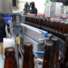 Avery Brewing's bottling line